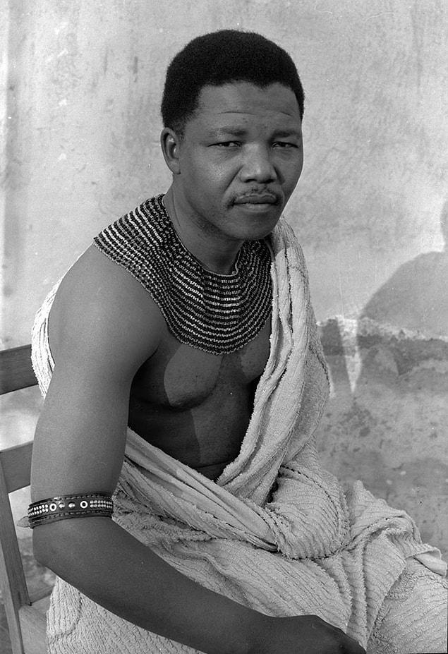 Молодой Нельсон Мандела, 1961 год.