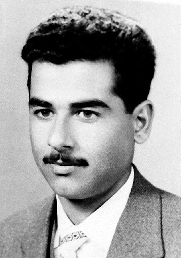 Молодой Саддам Хусейн.