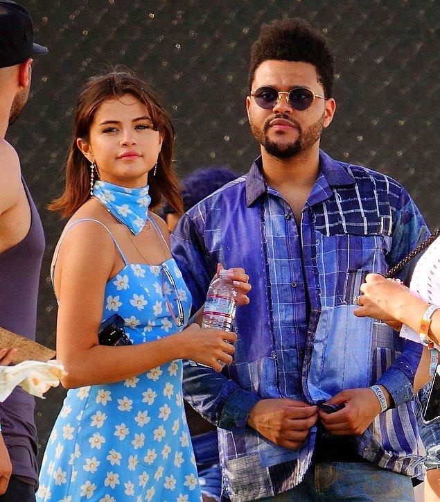 29. Selena Gomez ve Weeknd