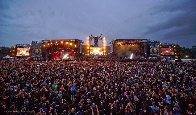 12. Metal müzik severlerin Almanya'daki buluşma noktası: Wacken Open Air / Almanya