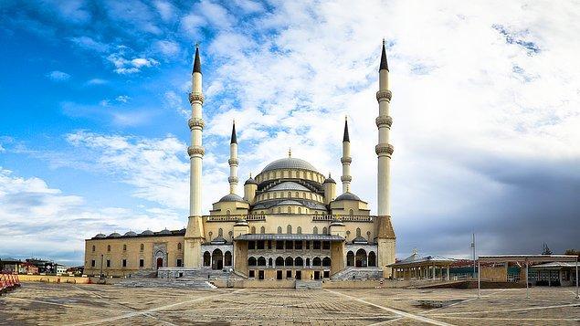 19. Ankara'nın ilk 4 minareli camisi: Kocatepe Camii