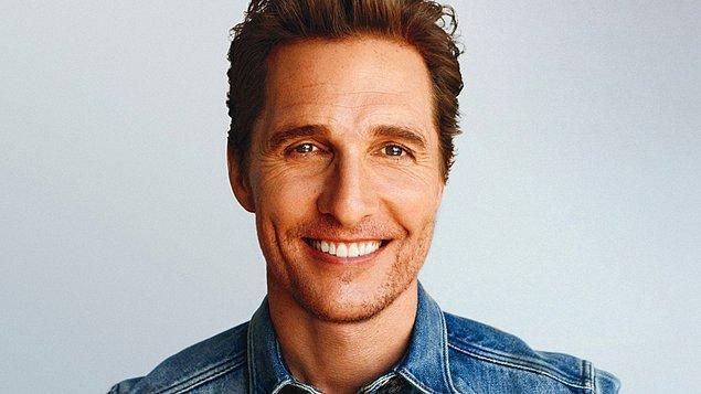 12. Yakışıklı aktör Matthew McConaughey ise yaklaşık 20 yıldır deodorant kullanmıyor.