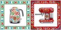 Dolce & Gabbana выпускает линию кухонной техники, украшенной сицилийскими мотивами