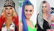 Разукрасились: сумасшедшие цвета волос знаменитостей