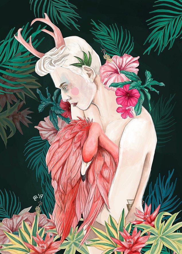 16. Flamingo ile Dans