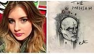 18-летняя девушка, страдающая шизофренией превращает свои галлюцинации в предметы искусства
