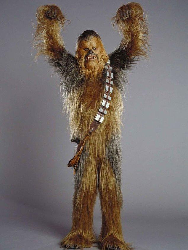 Chewbacca'nın nasıl göründüğünü unuttuysanız filan 👇