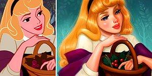 Illustrator Repaints Disney Princesses To Look More Realistic