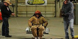 """Street Outlaws AZN Rides In """"Nitro Chair"""" And It's INSANE!"""