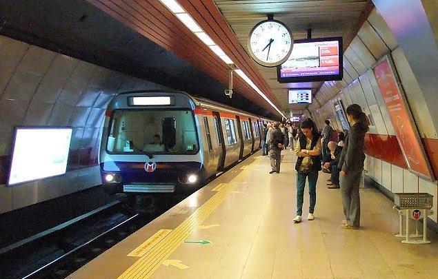 3. Peki ya hangisi bir metro durağı değil?