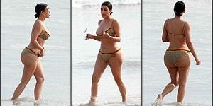 В Сети появились пляжные фото Ким Кардашян без фотошопа, и народ в шоке!