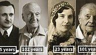 Time Travel: Same People Photographed As Young Adults And 100-Year-Olds