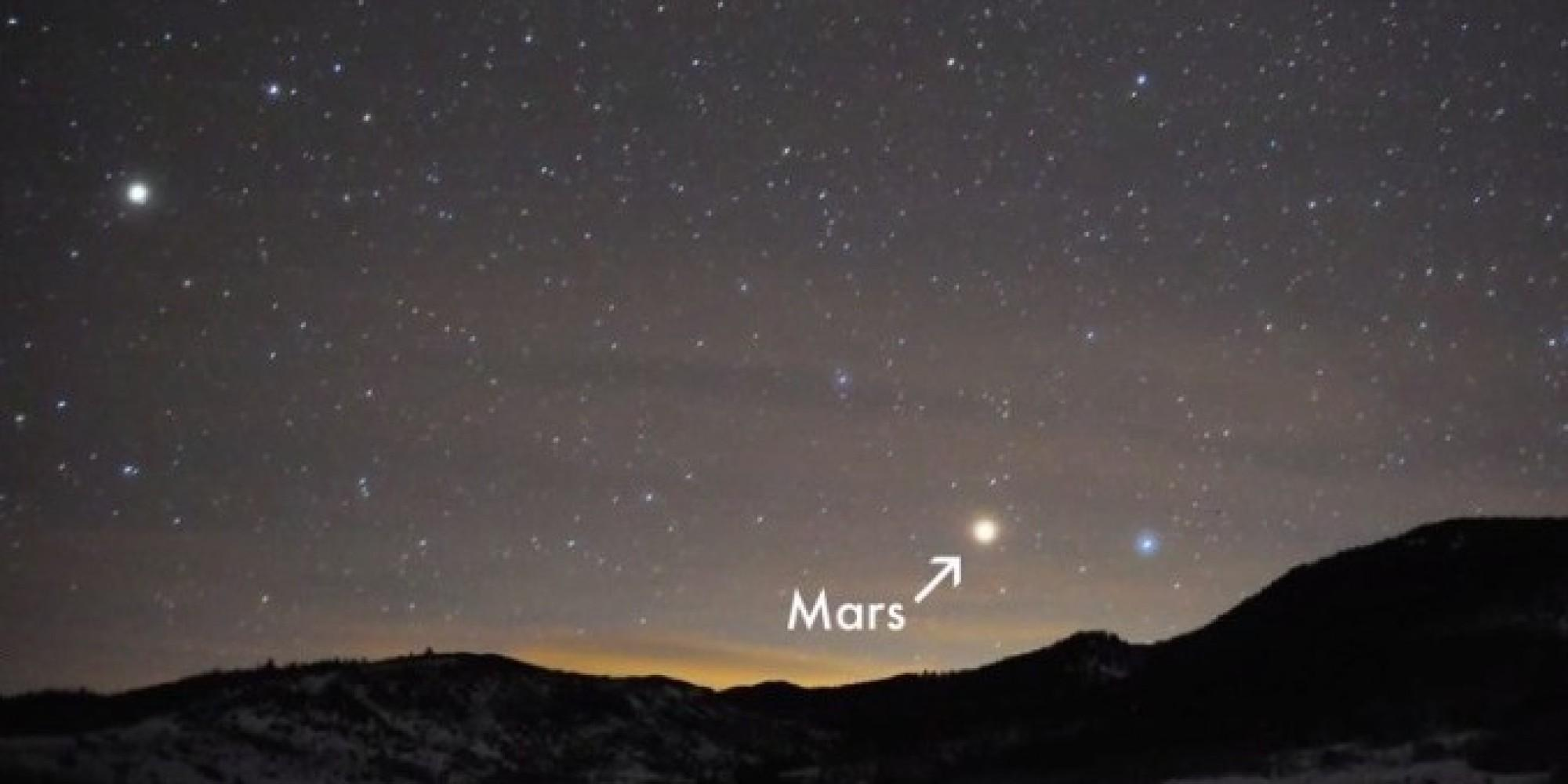 mars can be seen from earth #10