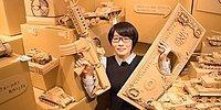 Картонные скульптуры японской художницы: она может сотворить из коробок любой каприз!