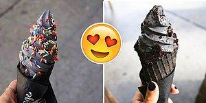 Black Ice-Cream Does Exist And It Looks Delicious!