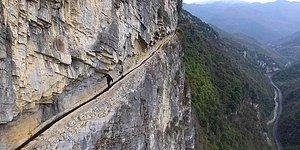 Meet The Chinese Legend Who Spent 36 Years Digging A 6 mile Long Canal Through Three Mountains!
