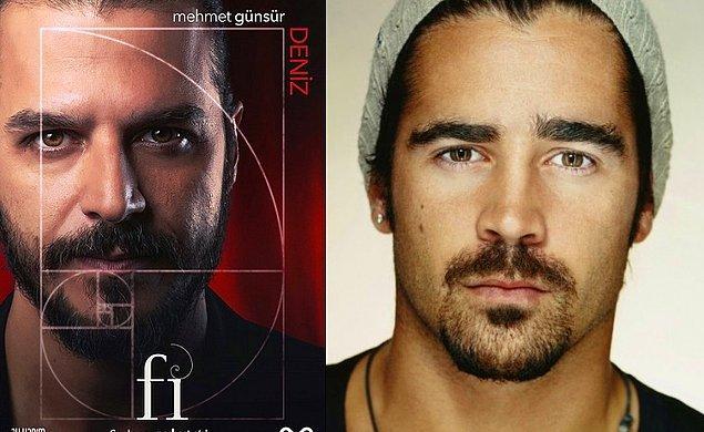 3. Deniz (Mehmet Günsür) - Colin Farrell