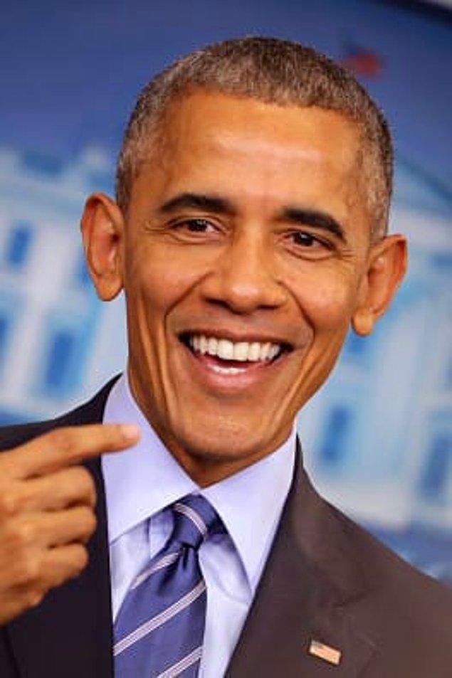8. Barack Obama, Katy Perry'den daha fazla Grammy Ödülü kazanmıştır.