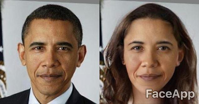 А это бывший президент США Барак Обама