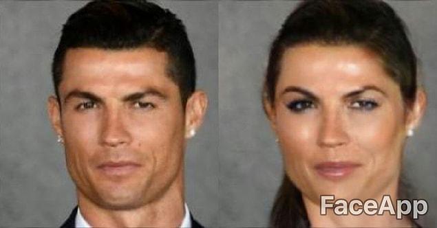 Женская версия Роналду