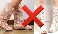 5 самых безвкусных и вышедших из моды моделей летней обуви