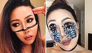 This Artist Takes Optical Illusions To The Next Level With Her Mind Blowing Makeup!