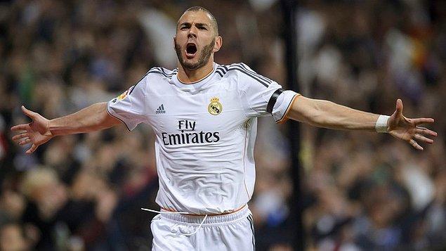 9. Karim Benzema | 2 Hat-trick