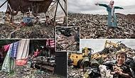 Шокирующие фотографии огромной мусорной свалки в Индонезии, на которой живет 3000 семей