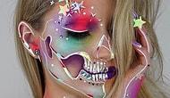 Страшно красиво: гламурные черепа как дань традициям в работах талантливого визажиста