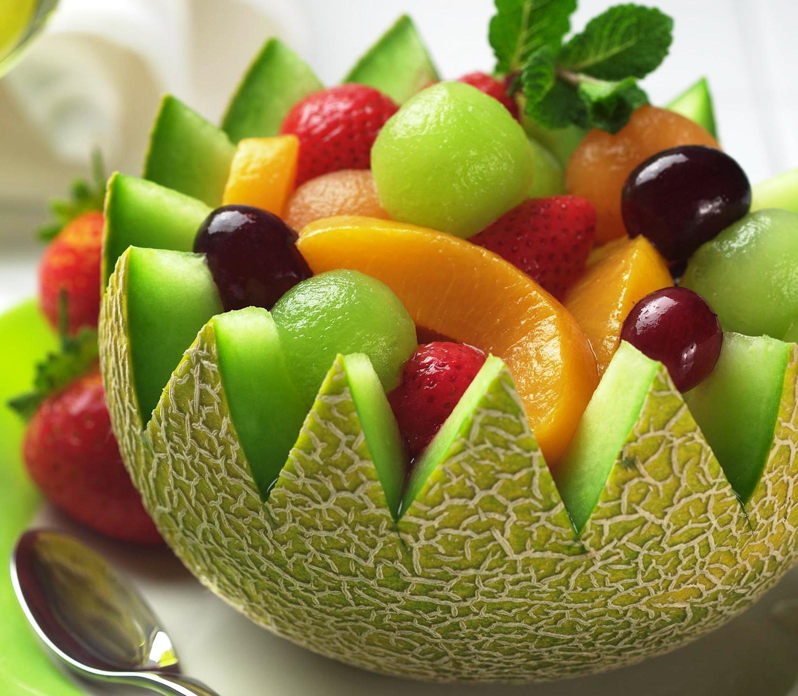 картинки для нарезки фруктов с рецептами сверху между