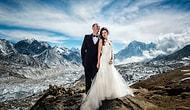 Эта пара покорила Эверест и обручилась прямо там. Свадебные фото поражают!