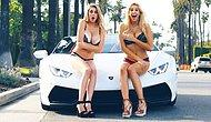 This Prank Is NSFW: Lamborghini Blowing Off Girls' Dresses