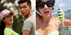 50-Year-Old Chinese Mother With No Plastic Surgery Looks Younger Than Her 22-Year-Old Son!