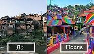 Мир красивее, когда он в разных красках, и эта деревня тому доказательство