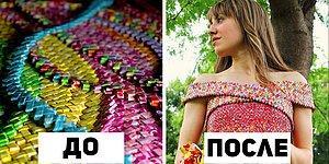 4 года и 10 000 оберток от конфет ушло на создание этого невероятного платья