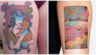 """Ищите новую идею для тату? 20 нестандартных татуировок в стиле """"плавающего мира"""""""