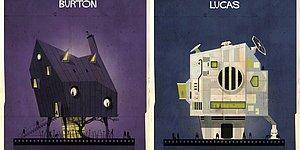 Как выглядели бы дома режиссеров, если бы они строили их так же, как делали фильмы