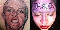На эту и на ту: 17 ужасных фанатских татуировок, о которых они точно пожалели