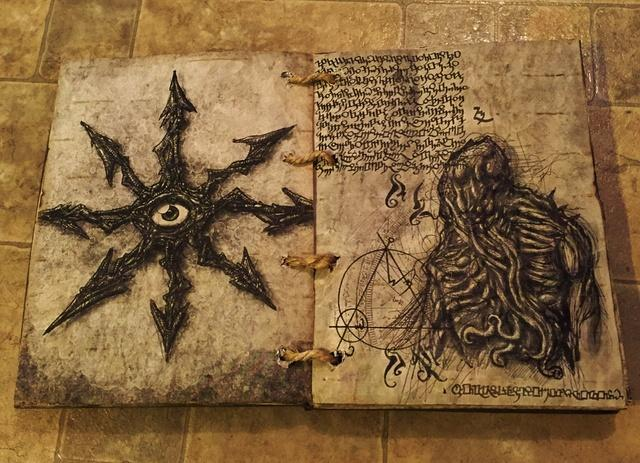 Necronomicon: The Ancient Book Of Magic That Allegedly Drove