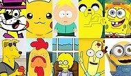 Have You Ever Noticed How Most Popular Cartoon Characters Are Yellow?