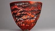 Прекрасные пейзажи, вырезанные на деревянных чашах, от кенийского мастера поражают воображение