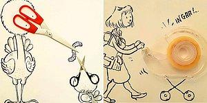 Look Differently! This Artist Turns Everyday Objects Into Playful Illustrations!
