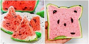 Такого еще не было: в Тайване изобрели хлеб в виде арбуза