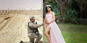 The Heartbreaking Photoshoot Of A Mother-To-Be And Her Husband In The War Zone!