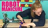 Our Beloved Robot-Creator Invented A Manicure-Making Robot And We Can't Stop Laughing 💅