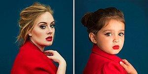 Эти 17 образов знаменитостей от 3-летней девочки согреют вашу душу 😍