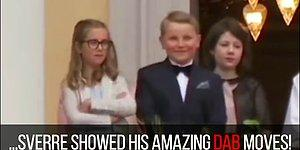 Norwegian Prince Wins The Internet Showing Off His Dabbing Skills During A Royal Ceremony!