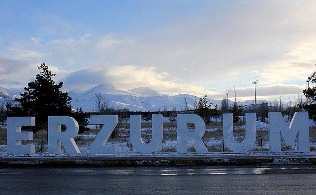 Erzurum!