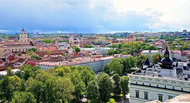 3. Vilnius, Litvanya