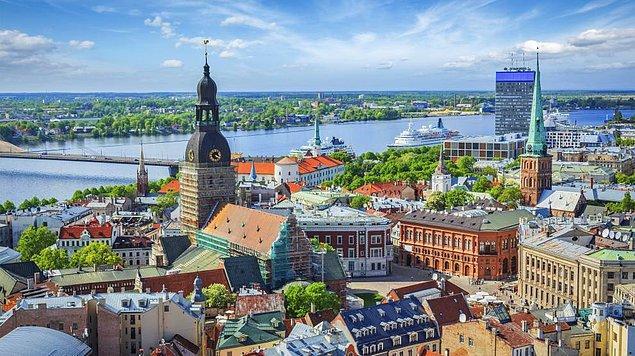 9. Riga, Letonya